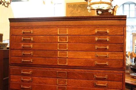 map drawer cabinet 20 drawer tiger oak map cabinet or flat file with original