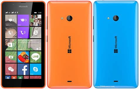 Nokia Microsoft 540 microsoft lumia 540 dual sim pictures official photos