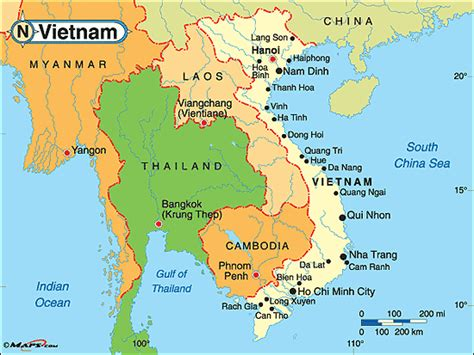 Vietnam World Map by Where Is Vietnam On A World Map Submited Images