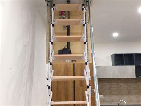 scale a scomparsa per soffitte scale a scomparsa su misura a scale retrattili