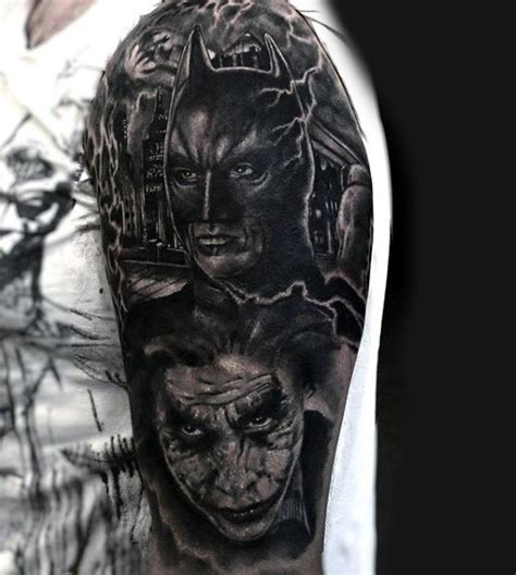 dark knight tattoo 100 batman tattoos for ink designs