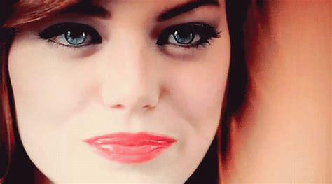 emma stone gif on tumblr emma stone demon eyes gif find share on giphy