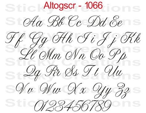 28 words design text script 1066 custom text script lettering sticker vinyl name