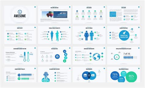 buy professional powerpoint templates 60 beautiful premium
