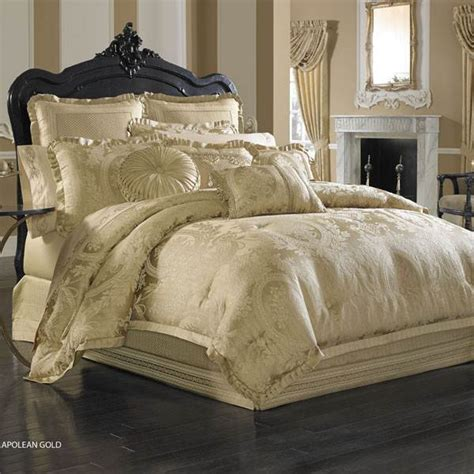 gold bedspreads and comforters shop j queen new york napoleon gold comforter set the