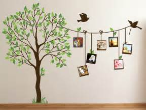 Childrens Tree Wall Stickers family photo tree creative wall decal home decor india