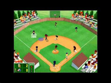backyard baseball gameplay backyard baseball 2003 postseason gameplay nlcs padres vs