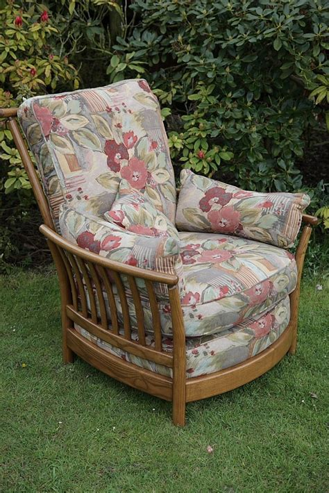 ercol armchairs for sale ercol renaissance ash golden dawn armchair seat cushions for sale in uttoxeter