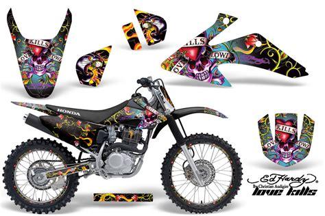 design motorbike graphics honda crf150f 230f graphic kit stickers and decals
