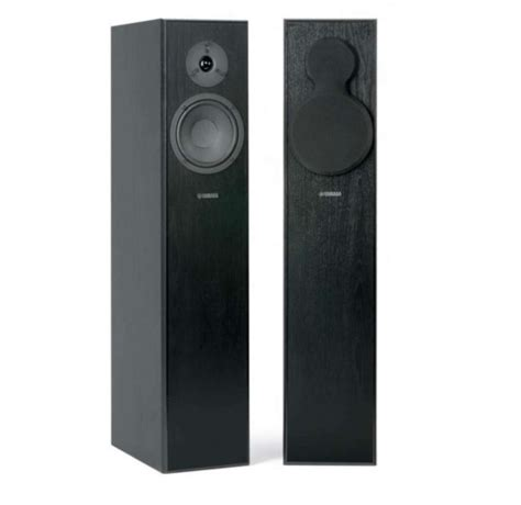 Yamaha Floor Standing Speakers by Yamaha Ns F140 Floor Standing Speakers Review And Test
