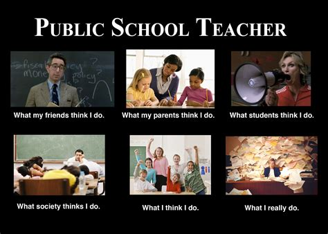 Teacher Problems Meme - image 251693 what people think i do what i really