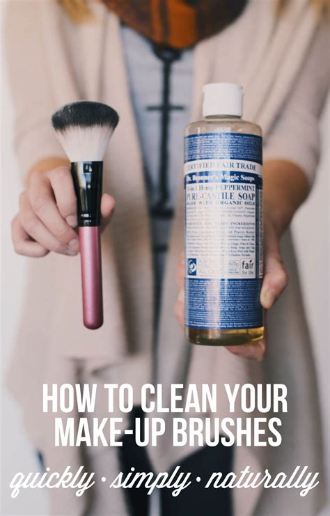 make clean how to clean your make up brushes gimme some oven