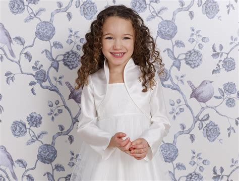 braut accessoires lilly lilly kinderbolero creme kindermode accessoires