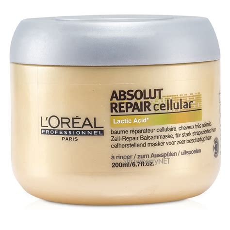 Crrante Hair Mask Strawberry 200ml l oreal professionnel absolut repair cellular mask