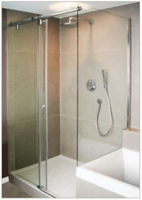 Barn Door Shower Door Destin Glass Barn Style Doors Hydroslide Bypass Showers