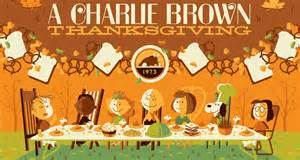 when was charlie brown thanksgiving made tom whalen s a charlie brown thanksgiving prints
