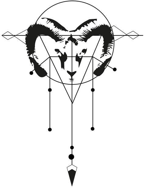 aries constellation tattoo goemetric aries variation tattoos