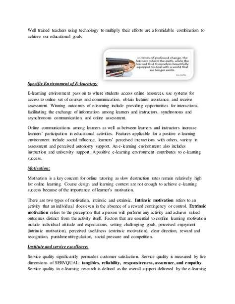 e learning thesis e learning essay e learning essay sle e learning for
