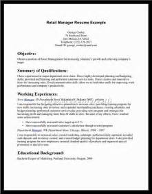 retail management cover letter sle luxury retail resume sales retail lewesmr