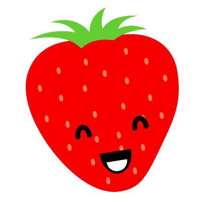 imagenes de fresas kawaii fresa animada gif 3 gif images download