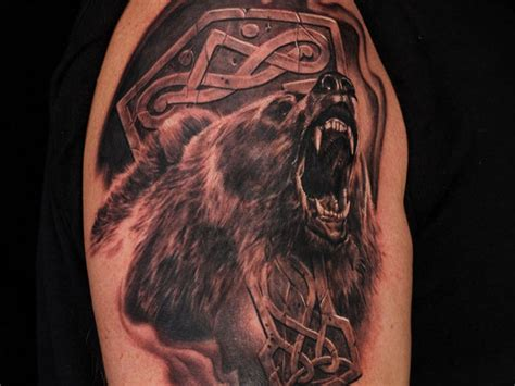 bear tatt s on pinterest bear tattoos chicago bears