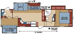 open road 5th wheel floor plans rv net open roads forum fifth wheels 5th wheel bunkhouse