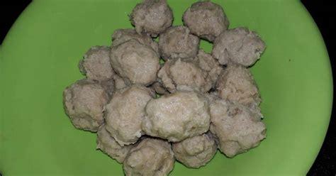 resep  membuat bakso urat enak  sederhana cookpad