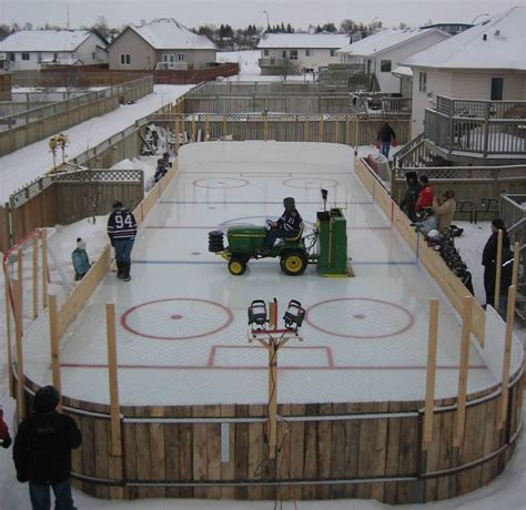 my backyard ice rink home ice open ice what s up ya sieve