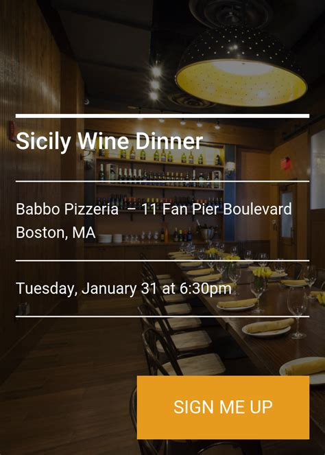 11 fan pier boulevard sicily wine dinner splash