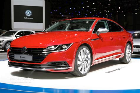 volkswagen geneva volkswagen arteon is a gorgeous five door coupe in geneva
