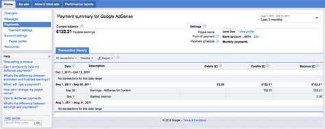 adsense threshold inside adsense introducing redesigned payments pages