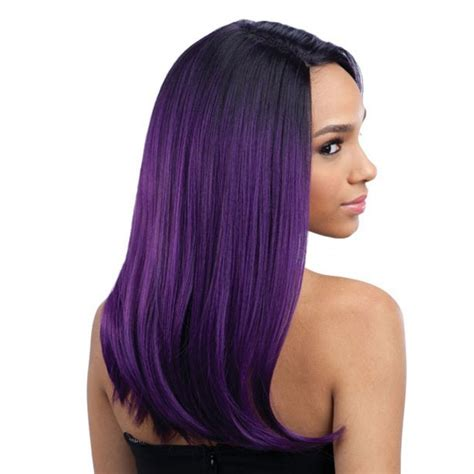 Synthetic Justice Wig | freetress equal deep invisible l part synthetic lace front