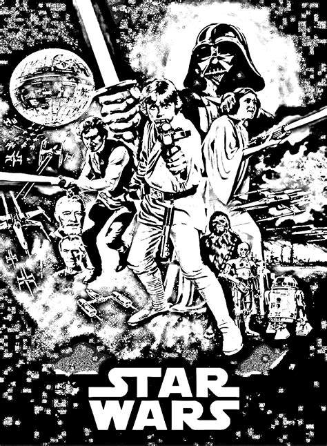 star wars episode  movies adult coloring pages