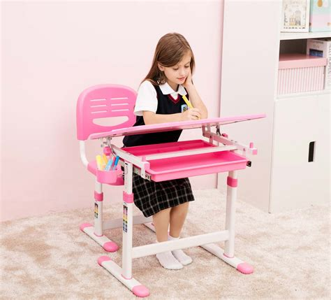 desk for 2 kids beautiful pink desk for girls best desk quality children