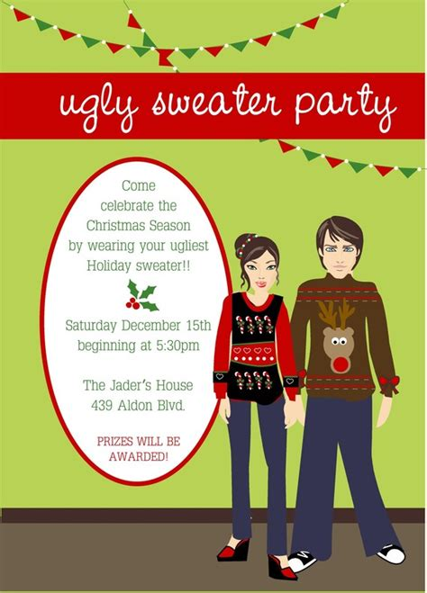 funny christmas party invitations wording wedding