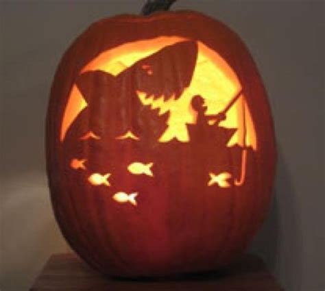 scary pumpkin carving 41 best the sea images on