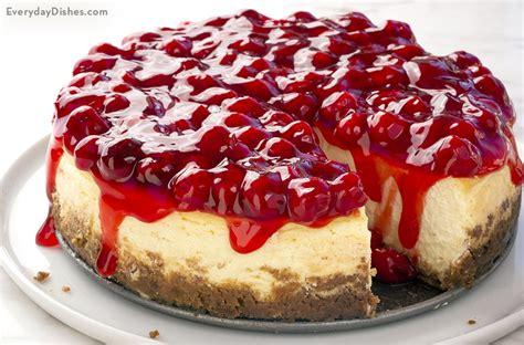 cheese cake cherry light and airy cherry cheesecake recipe