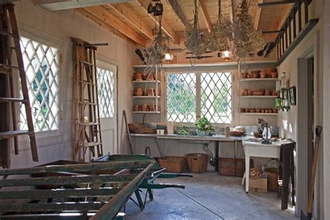 charming Design Your Own Room #5: garden-shed-interiors-porch-rustic-with-drying-flowers-traditional-window-boxes.jpg