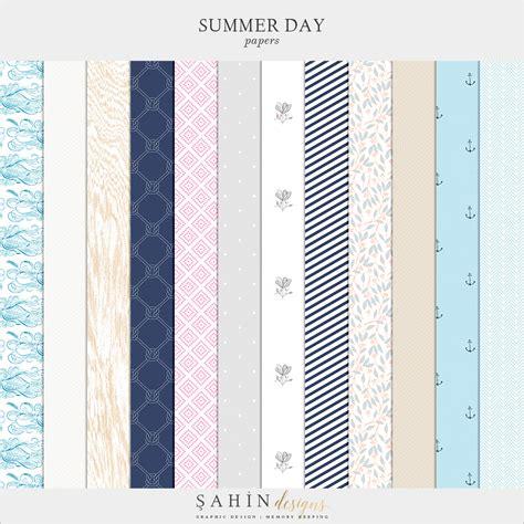 Summer Day Essay by Summer Day Digital Scrapbook Collection Sahin Designs