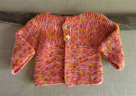 Handmade Clothing Australia - knitted baby jumper orange toddler sweater handmade baby