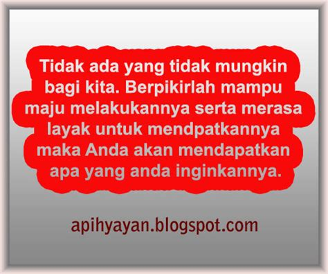kata mutiara pembangkit semangat apihyayan blog