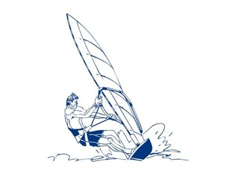 windsurfer template windsurfing design vector ai pdf free graphics