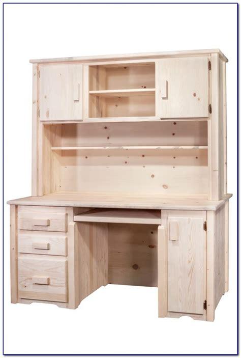 rustic corner desk with hutch rustic pine desk with hutch desk home design ideas