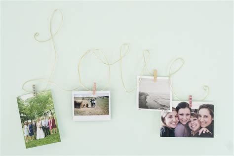 wire photo display this week on ehow diy wire photo display dream green diy