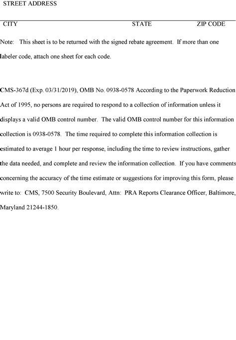 Federal Register Medicaid Program Announcement Of Medicaid Drug Rebate Program National Sales Rebate Agreement Template