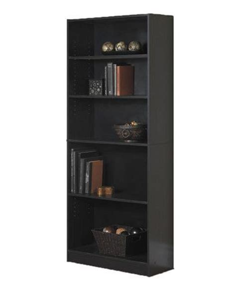 Mainstays 5 Shelf Bookcase Walmart Ca Mainstays 5 Shelf Bookcase White