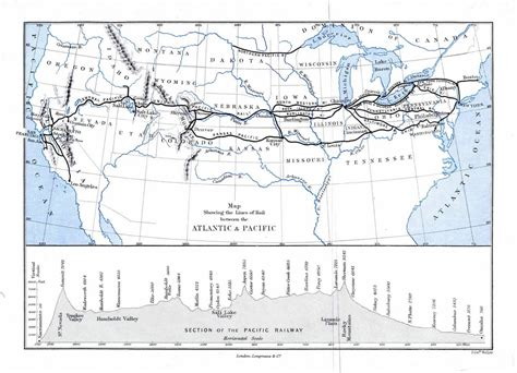 the sections of the transcontinental railroad join in american history transcontinental railroads videos pronk