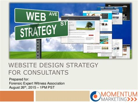 website layout strategy website design strategy for consultants