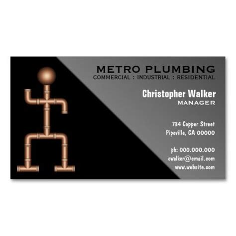 Plumber Business Card Template by 271 Best Plumbing Business Card Templates Images On