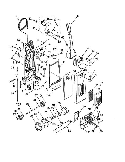 kenmore vacuum model 116 parts diagram i a kenmore vacuum cleaner model 116 31913103 bought